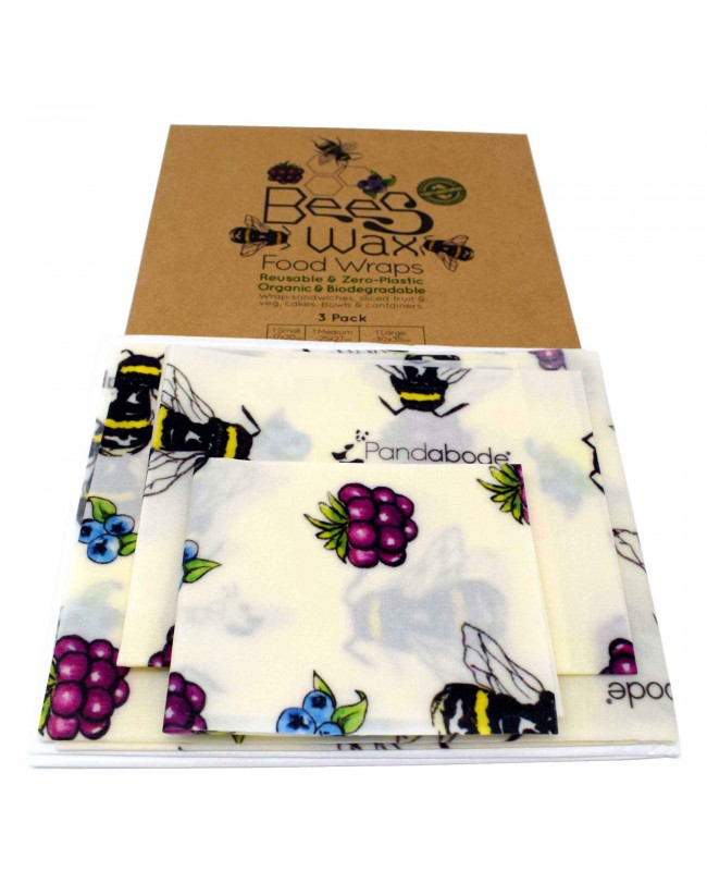 Beeswax Food Wraps 3 Pack