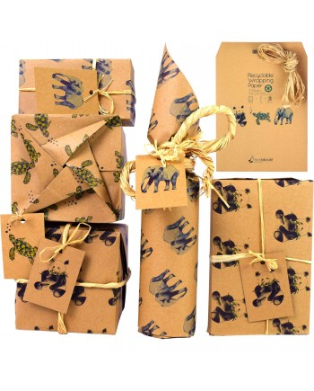 Recyclable Wrapping Paper